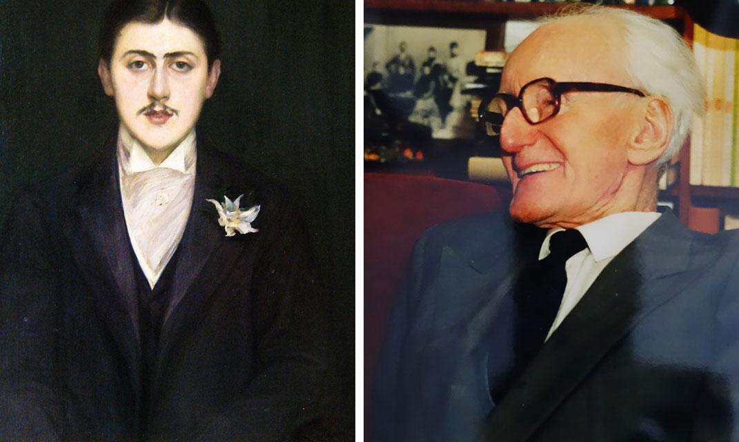 Marcel Prosut Portrait par Jacques-Émile Blanche, 1892 et Józef Czapski