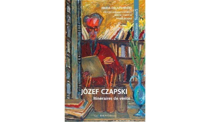 couverture de livre coloré. Il montre l'autoportrait de Józef Czapski