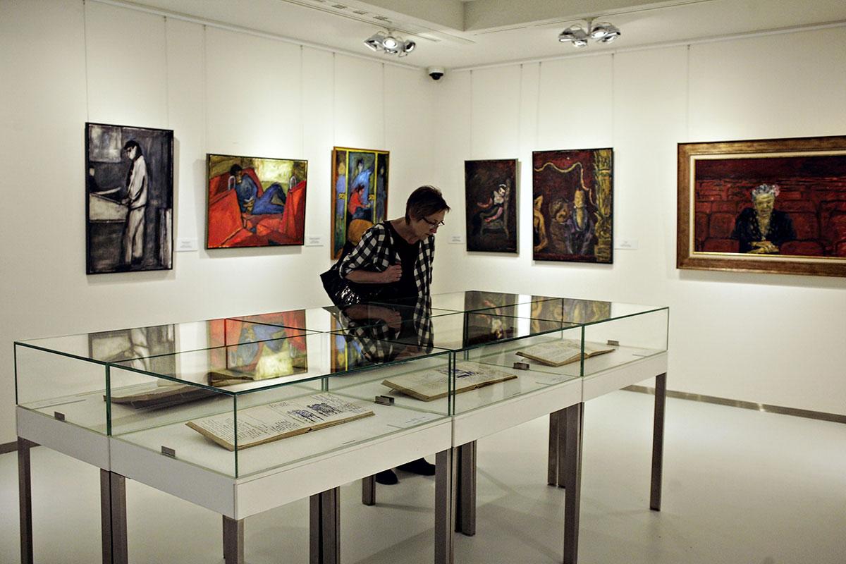 photographie couleur, exposition Czapski