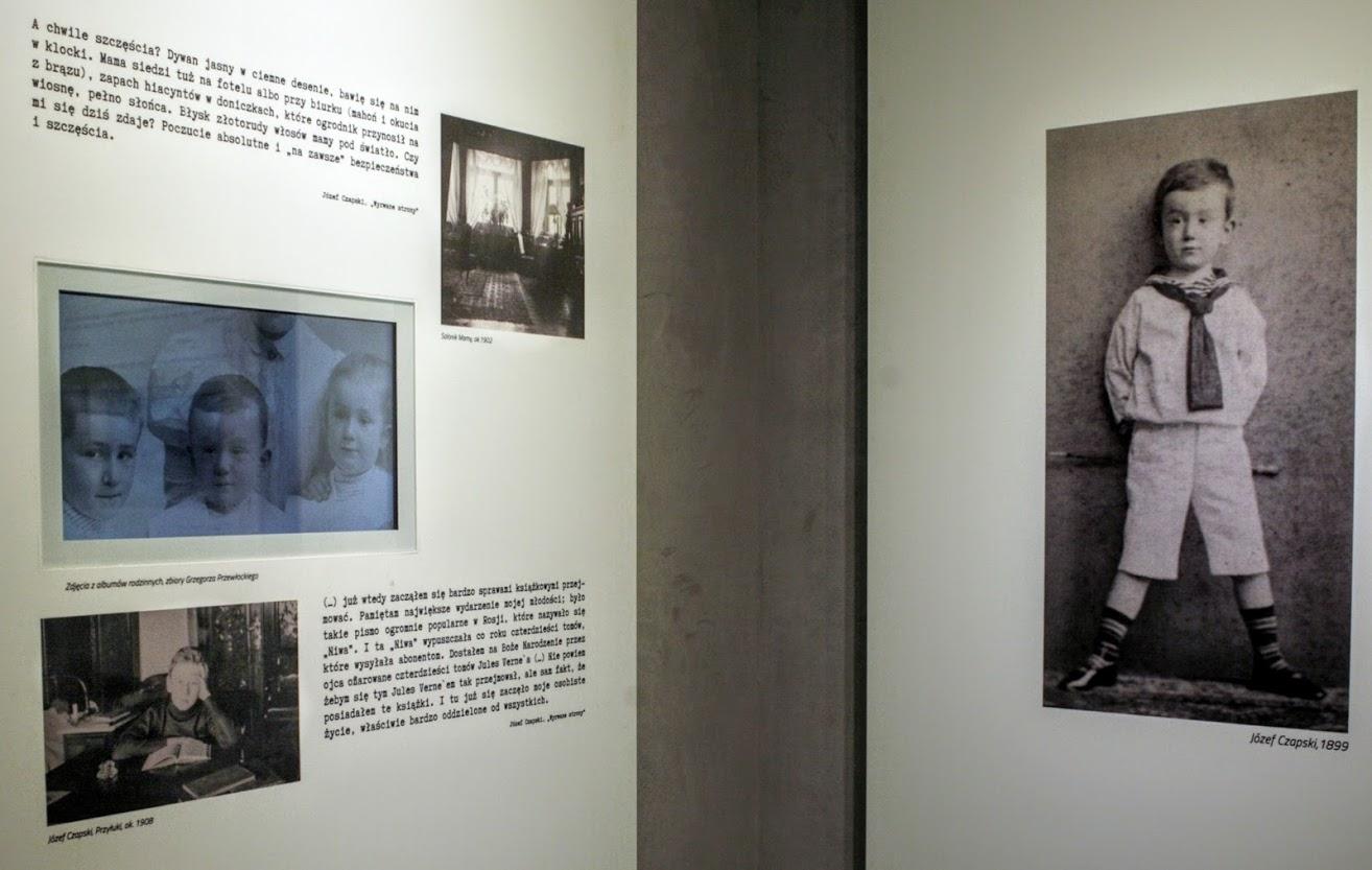 photographie couleur, exposition biographique sur Czapski